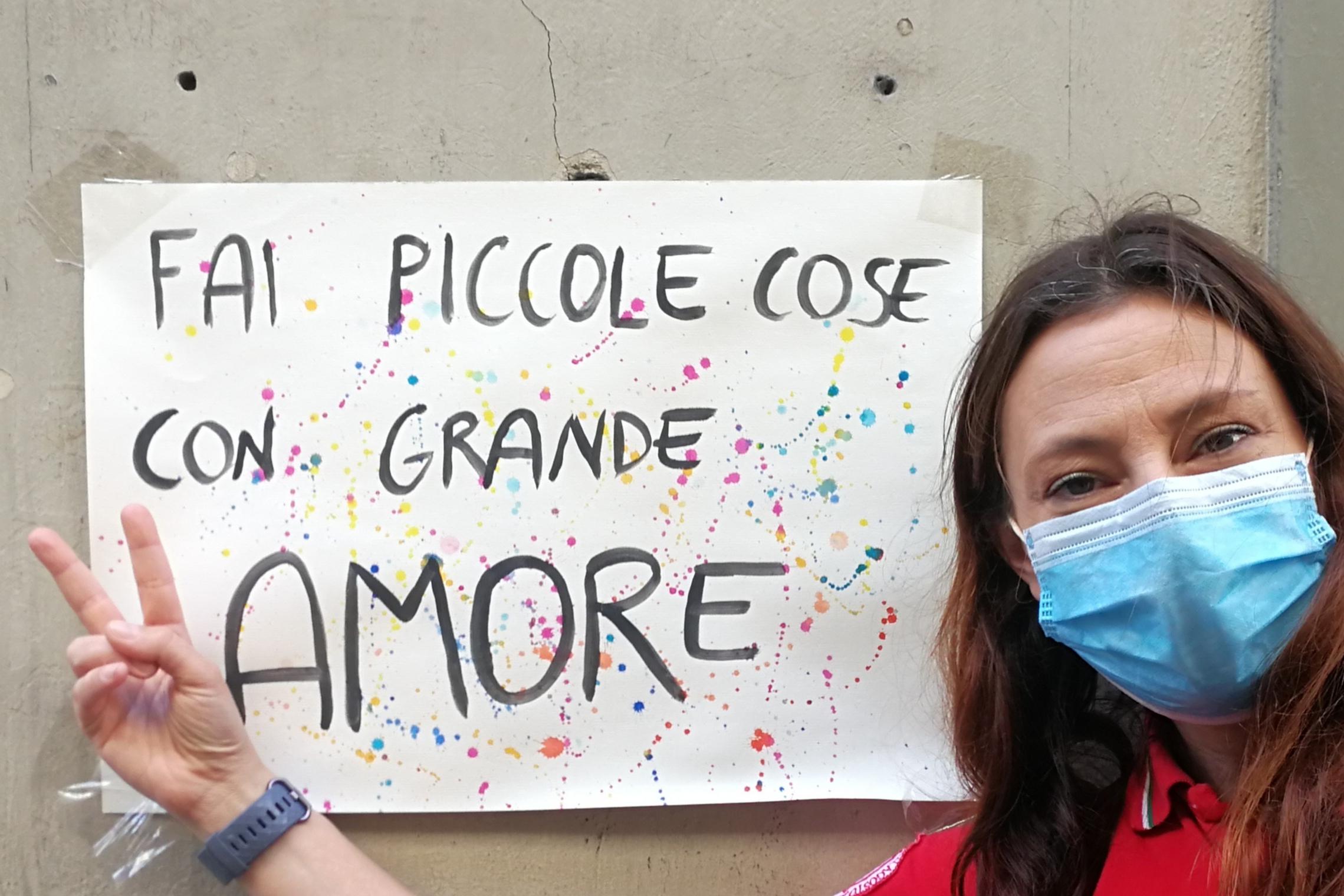 Marta Principe volontaria CRI Firenze
